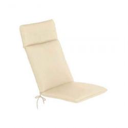 2 X the Cc Collection Garden Cushions Recliner Cushion Natural