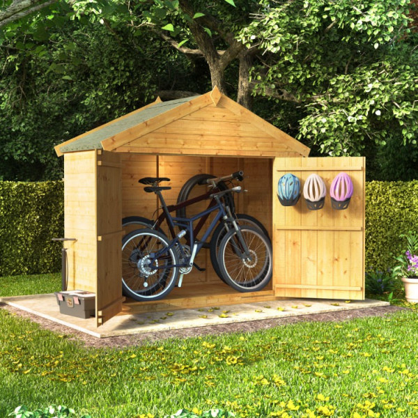 Buy BillyOh Mini Master Tongue and Groove Apex Bike Store PT 3x6 T&G Apex Store Online - Garden Furniture