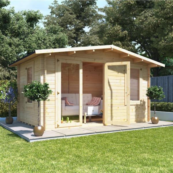 Buy 4.0mx3.0m BillyOh Montana Log Cabin 28 Online - Garden Houses & Buildings