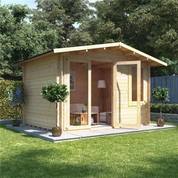 Buy 3.5 x 3.0 BillyOh Lodge Log Cabin 19 Online - Garden Houses & Buildings