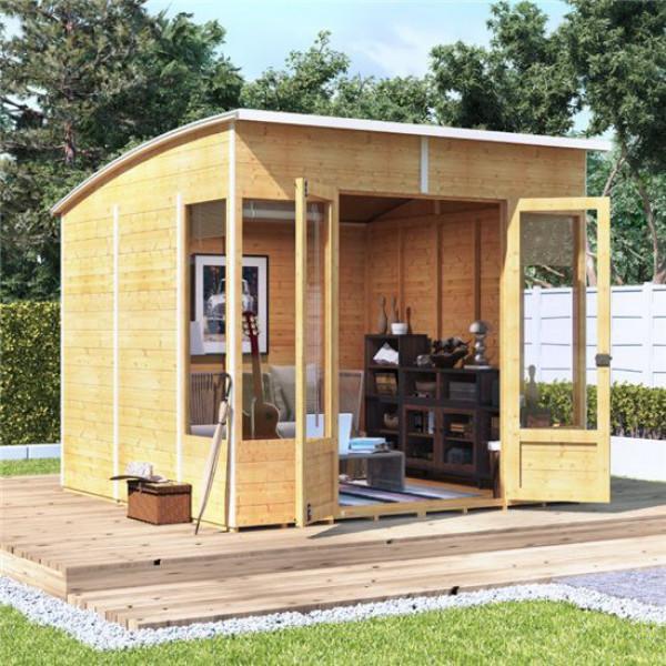 Buy BillyOh 5000 Sunroom Summerhouse Range PT 8x8 Sunroom 1 Window Each Side Online - Garden Houses & Buildings