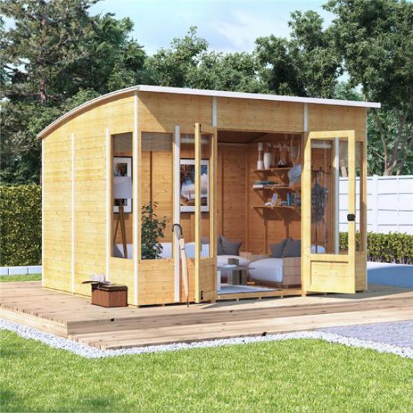 Buy BillyOh 5000 Sunroom Summerhouse Range PT 10x8 Sunroom 1 Window Each Side Online - Garden Houses & Buildings