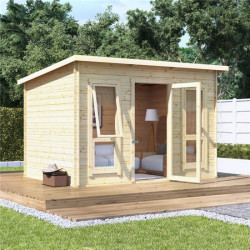 10 X 8 Billyoh Carmen Log Cabin Summerhouse 19