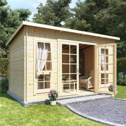 12 X 8 Billyoh Skinner Log Cabin Summerhouse 19