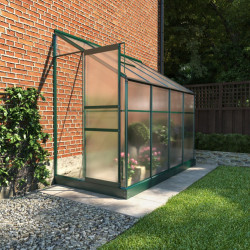 Billyoh Polycarbonate Lean to Greenhouse 4x8