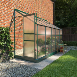 Billyoh Polycarbonate Lean to Greenhouse 4x10