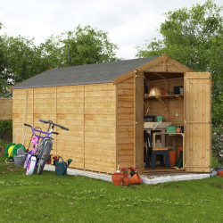 16' X 6' Billyoh Keeper Overlap Apex Shed Windowless