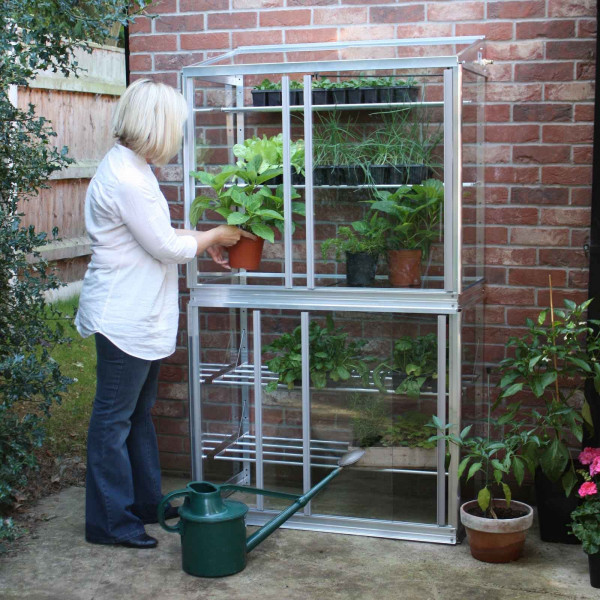 Buy Superior Lean to Double Mini Greenhouse Online - Greenhouses