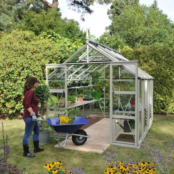 Buy Harrod Superior Greenhouse Willow Grey Online - Greenhouses
