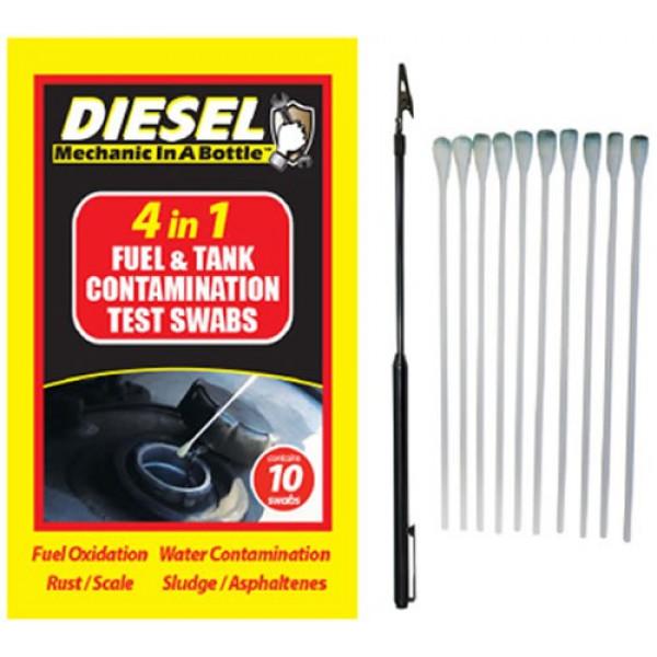 Buy B3C 4 in 1 Diesel Contamination Test Swabs Pack of 10 Online - Garden Tools & Devices