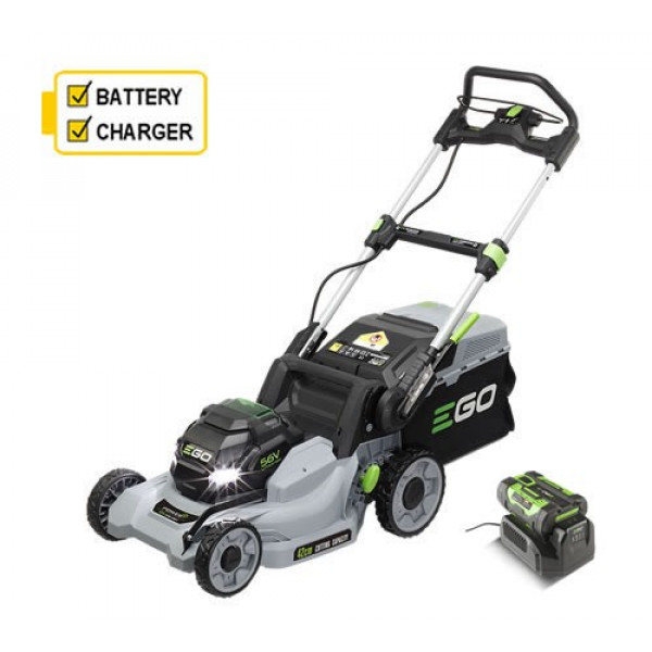 Buy EGO LM1701E Push 42cm Cordless Lawn mower c/w battery ; charger Online - Garden Tools & Devices