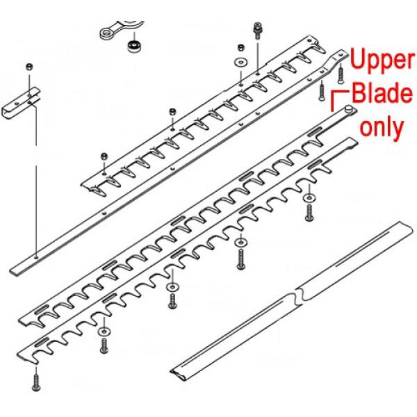 Buy Kawasaki KHS750B Hedge trimmer Upper Blade Online - Garden Tools & Devices