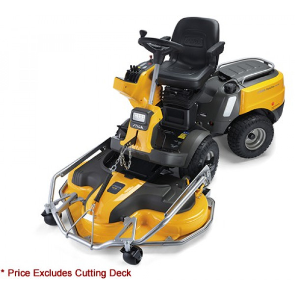 Buy Stiga Park Pro 740 IOX 4WD Out Front Deck Ride On Lawn mower Online - Lawn Mowers