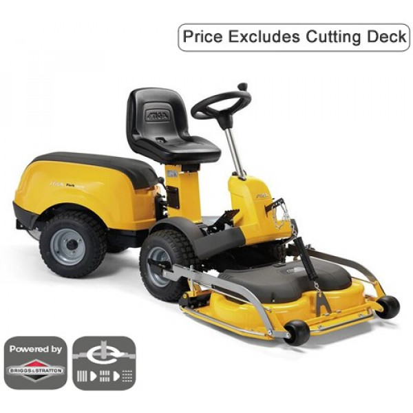 Buy Stiga Park 340 PX Front Cut Ride On Mower Online - Lawn Mowers