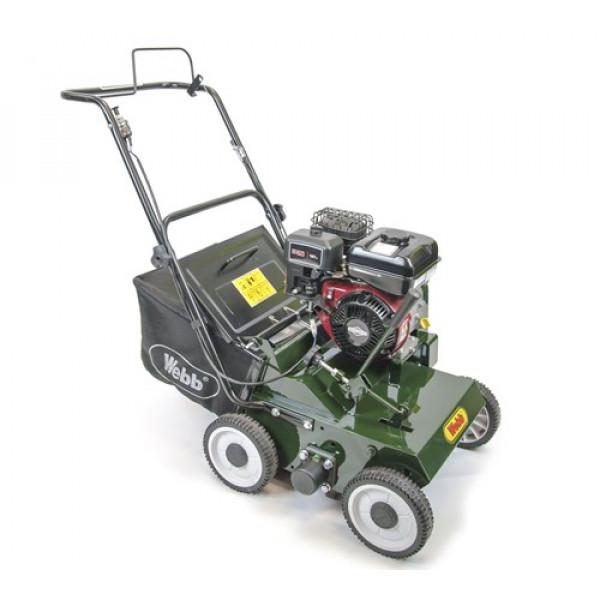 Buy Webb LS38 Push Petrol Lawn Scarifier Online - Lawn Mowers