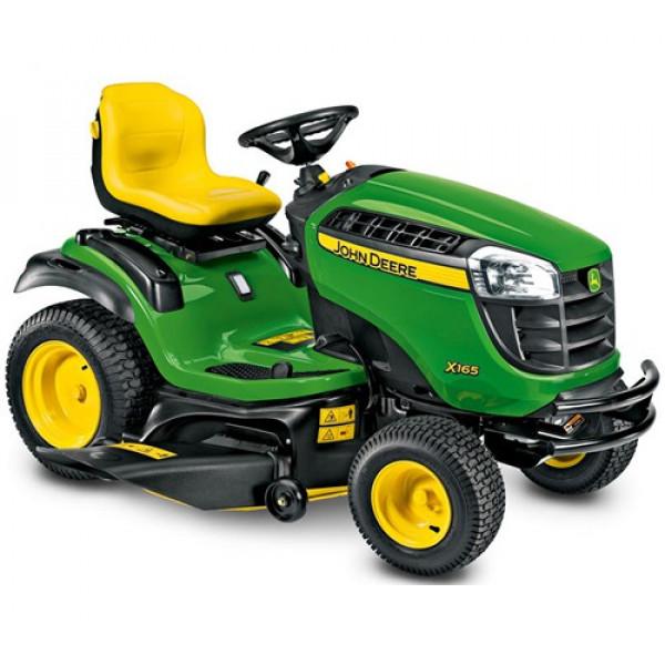 Buy John Deere X165 Ride On Mower Online - Petrol Mowers