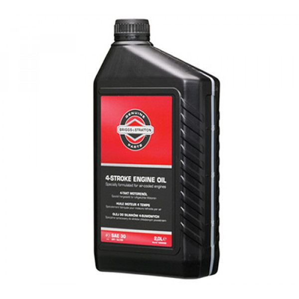 Buy Briggs ; Stratton Four Stroke Engine Oil 2 Litre 100008 E Online - Garden Tools & Devices