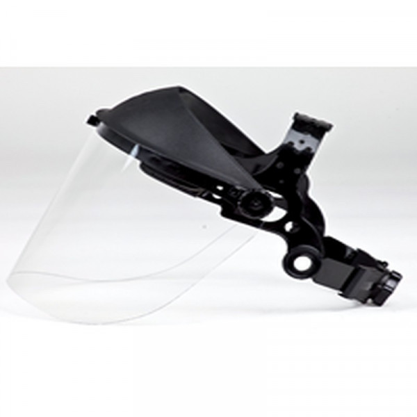 Buy Brushcutter Clear Visor with Rubber Strap Online - Safety Glasses & Noise protection