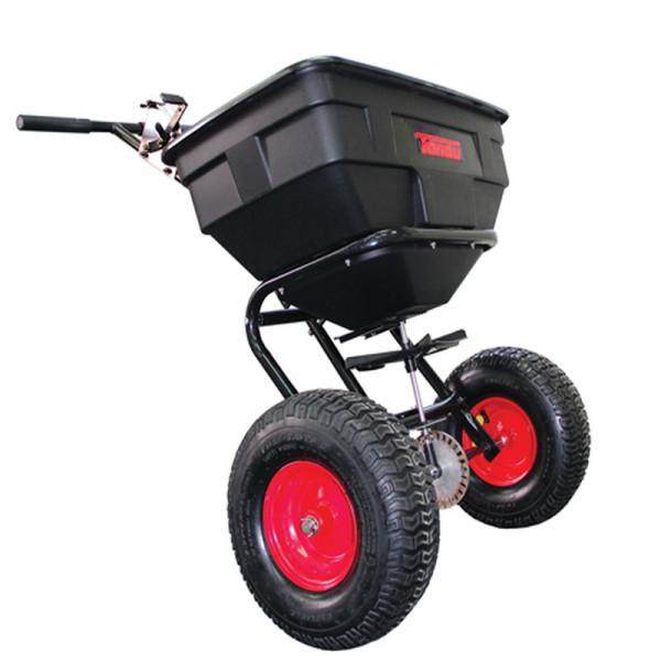 Buy Tondu TPS125 125lb Push Lawn Spreader Online - Wheelbarrows & Sack Trucks