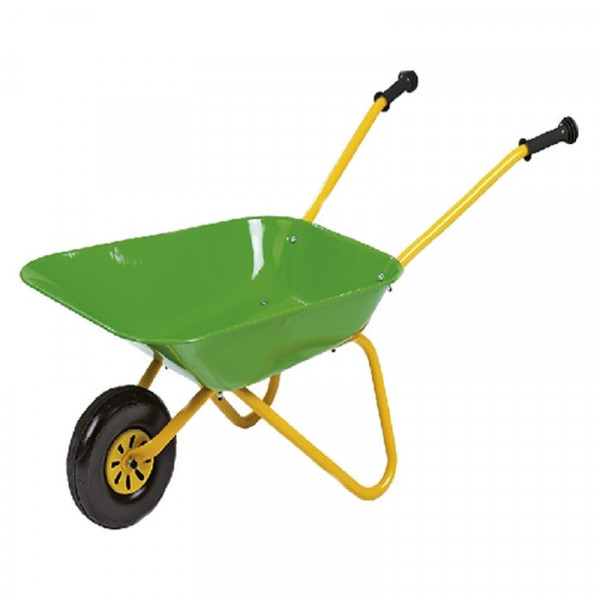 Buy John Deere Green Metal Wheelbarrow Online - Wheelbarrows & Sack Trucks