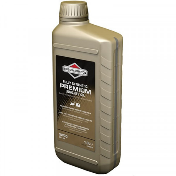 Buy Briggs ; Stratton Premium Synthetic Four Stroke Oil 1 Litre 100007 S Online - Garden Tools & Devices