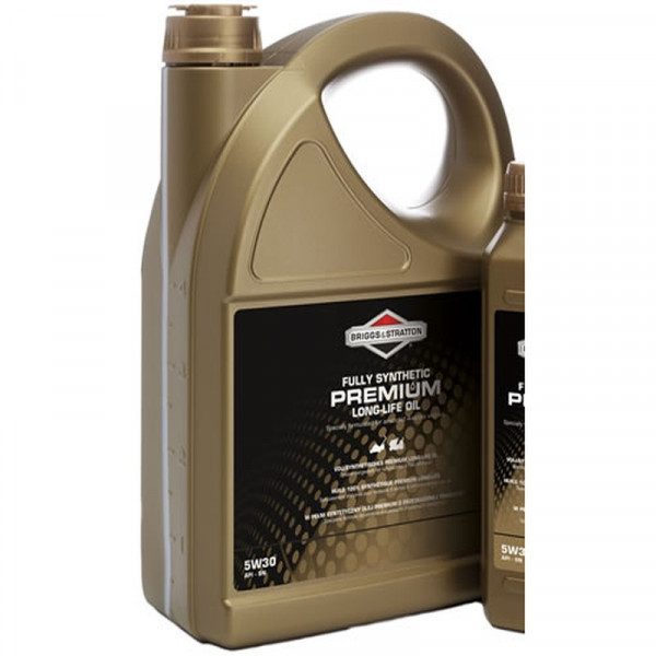 Buy Briggs ; Stratton Premium Synthetic Four Stroke Oil 5 Litre 100009 S Online - Garden Tools & Devices