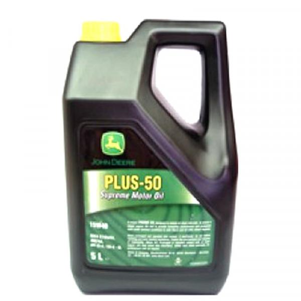 Buy John Deere Plus 50 15W40 Engine Oil 5 Litre VC50002X005 Online - Garden Tools & Devices